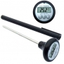 COOKING THERMOMETER - Best Pocket-size Digital Thermometer for Cooking/Meat/Barbecue/Food/Liquids - Accurate Quick-read Probe + Data Hold for Easy Read and Last Measure Memory; Clear LCD Display and Power Saving Auto Shut Off. Best Lifetime Guarantee