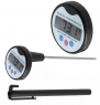 Digital Meat Cooking Thermometer, Candy Thermometer, Large Display for Easy Read, Easily Switch Between C/f, Battery and Probe Cover Included, By PBKay