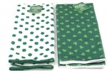 St. Patrick's Day Shamrock Kitchen Bar Lounge Irish Pub Hand Towels Great for Decoration Cooking Use or Bathroom, Set of 2