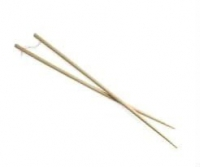 Long Natural Bamboo Cooking Chopsticks, One Pair, Measures 45 Cm
